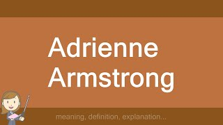 Adrienne Armstrong