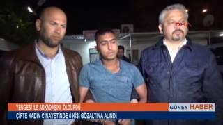 ADANA'DA ÇİFTE KADIN CİNAYETİNDE 6 KİŞİ GÖZALTINDA