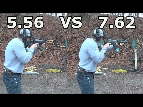 Recoil:5.56 vs.7.62 AK/// Century Arms M92 and M85