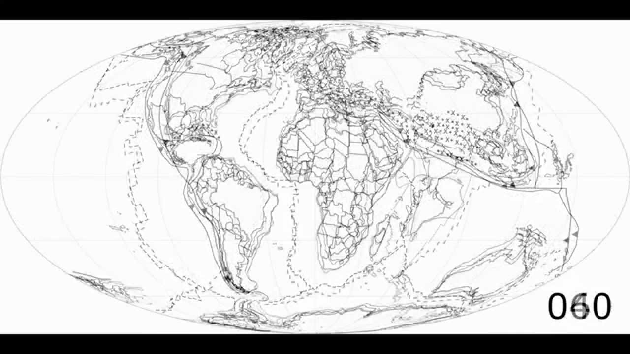 Plate Tectonic FlipBook By CR Scotese