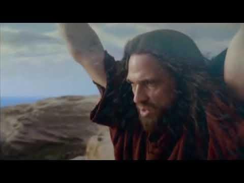 Moses Split Red Sea