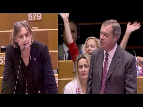 Farage ERUPTS: 'Stuck up snob' Lib Dem MEP savaged for 'patronising' 17.4m Leave voters