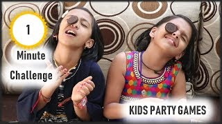 Funny Games   One minute games   party game for kids and adults