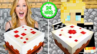 I Lived like My Minecraft Character for 24 Hours Straight