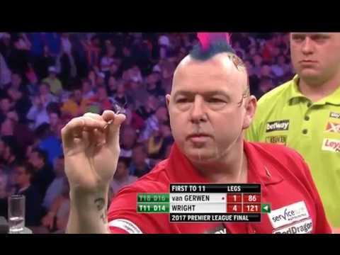 Premier League Darts FINAL  2017| Michael van Gerwen v Peter Wright