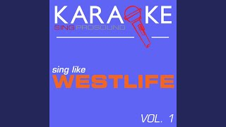 Queen of My Heart (In the Style of Westlife) (Karaoke with Background Vocal)