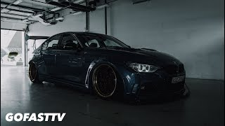THE BLUE TOAD. Widebody BMW 335i on the streets & racetrack // GOFASTTV