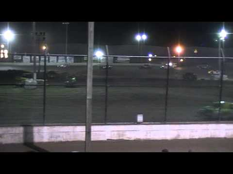 Kankakee County Speedway Street Stock Feature Race part 2,video/RGBuss