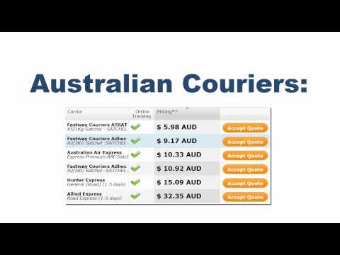 Couriers in Australia