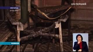 видео На Тячівщині підпалили церкву