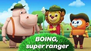 BOING SUPER RANGER - La chanson du générique