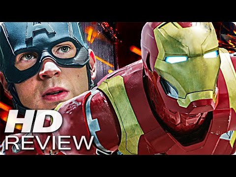 CAPTAIN AMERICA 3 Civil War Kritik Review & Trailer Deutsch German (2016)