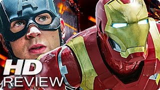 Captain america 3 civil war kritik review & trailer deutsch german (2016)