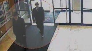 UFO Men in Black caught on security camera