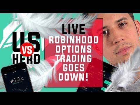 Robinhood Options Trading Goes Down!