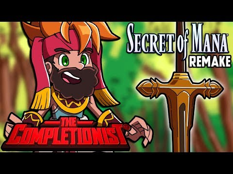 Secret of Mana Remake PS4 | The Completionist | New Game Plus