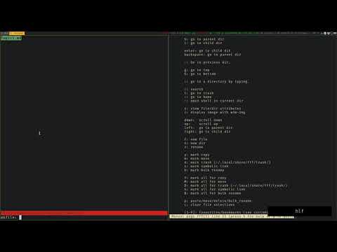[fff] - Terminal File Manager Written In Bash