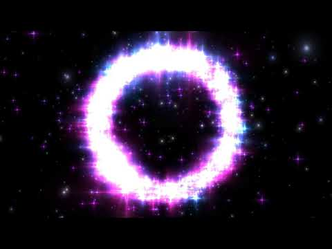 4K Flickering Stars Ring - Moving Background #AAVFX #VJLOOP
