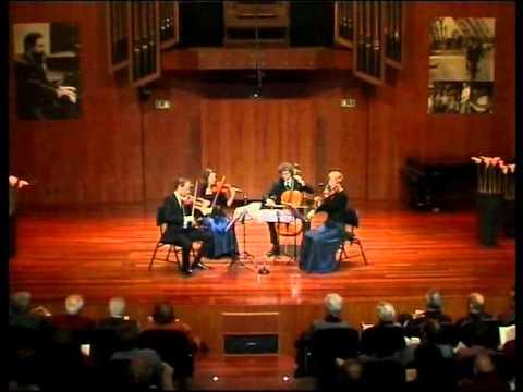 Amaryllis Quartett - Schumann op.41/1 (2)