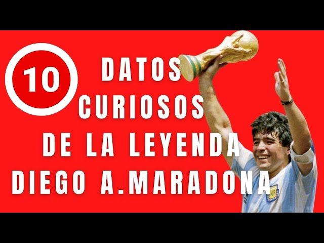 Diego Armando Maradona, la leyenda - El Aviso Magazine 2020