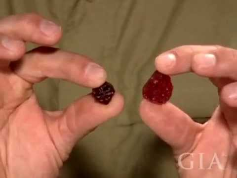 Rough and Cut Spinel With Edward Boehm by GIA