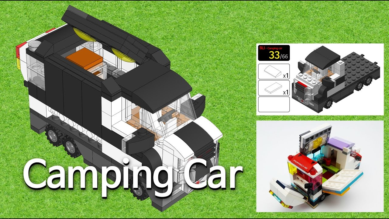 camping car lego bli youtube. Black Bedroom Furniture Sets. Home Design Ideas