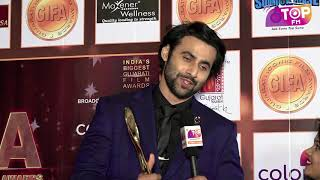 Actor Freddy Daruwala interacts with Top FM on GIFA Red Carpet 2018 | Top FM Radio Station