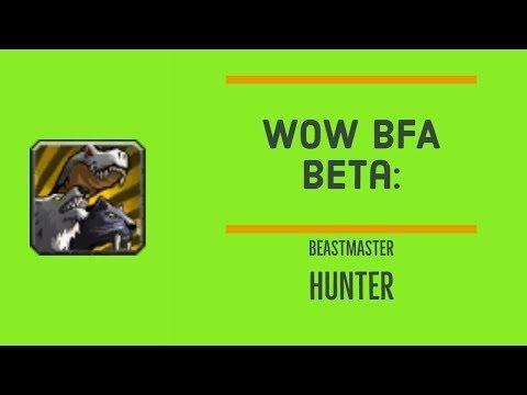 WoW BfA Beta: Beast Mastery Hunter