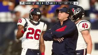 NFL Saturday 8/24 Los Angeles Rams vs Houston Texans (NFL Preseason Week 3 Madden 19)