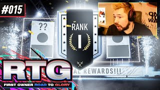 OUR RANK 1 DIVISION RIVALS REWARDS!! - FIFA 21 First Owner Road To Glory! #15