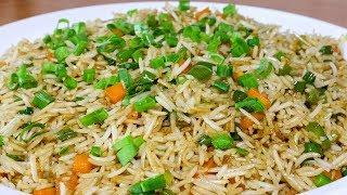 Veg Fried Rice Recipe   Restaurant Style Vegetable Fried Rice   Chinese Fried Rice   Kanak's Kitchen