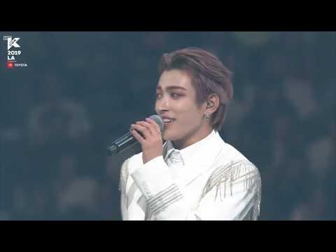 Ateez (에이티즈) KCON LA 8.17.19 Full Stage