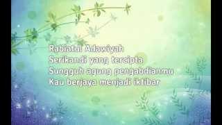 Inteam - Rabiatul Adawiyah (Lirik)