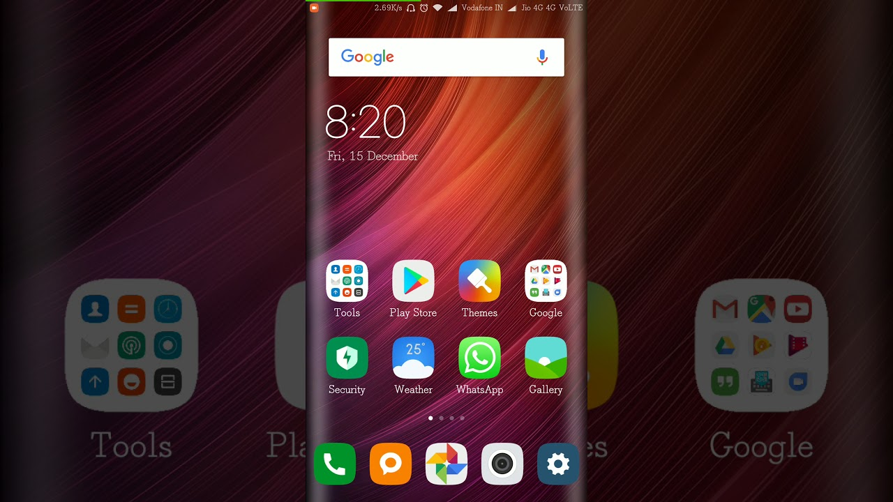 Notification bar settings in MIUI 9 | Redmi note 4 | change carrier name