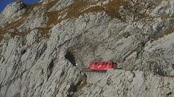 Die Pilatusbahn - Steilste Zahnradbahn der Welt