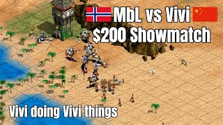 MbL vs Vivi | $200 Showmatch | Exactly the game you expect from those two