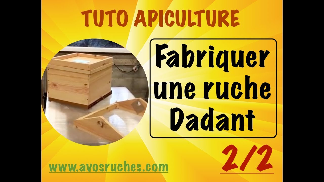 tuto apiculture fabrication d 39 une ruche dadant 10 cadres en d tail 2 2. Black Bedroom Furniture Sets. Home Design Ideas