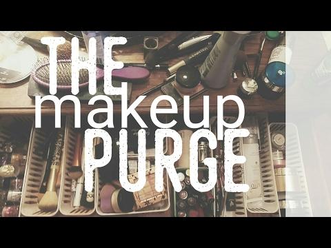 Declutter With Me | Makeup Hoarder | Aspiring Minimalist