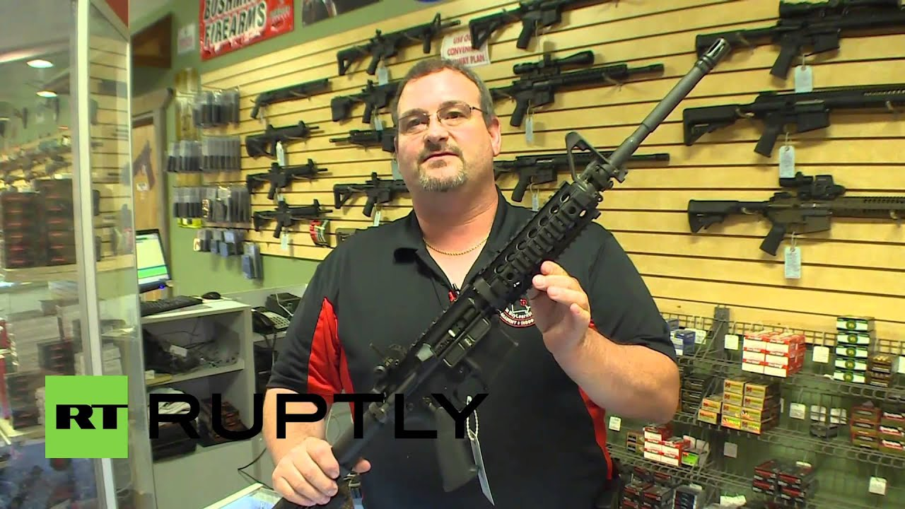 Usa Gun Sales Rise Amidst Ferguson Unrest Youtube