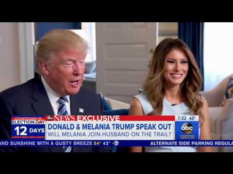 Download Youtube: Melania Trump finds out on live TV that she'll give speeches for her husband on campaign trail