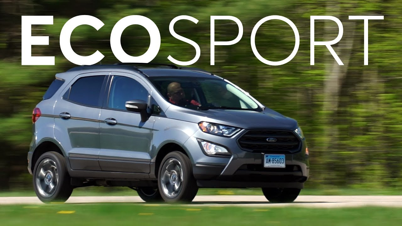 видео тест драйв форд экоспорт