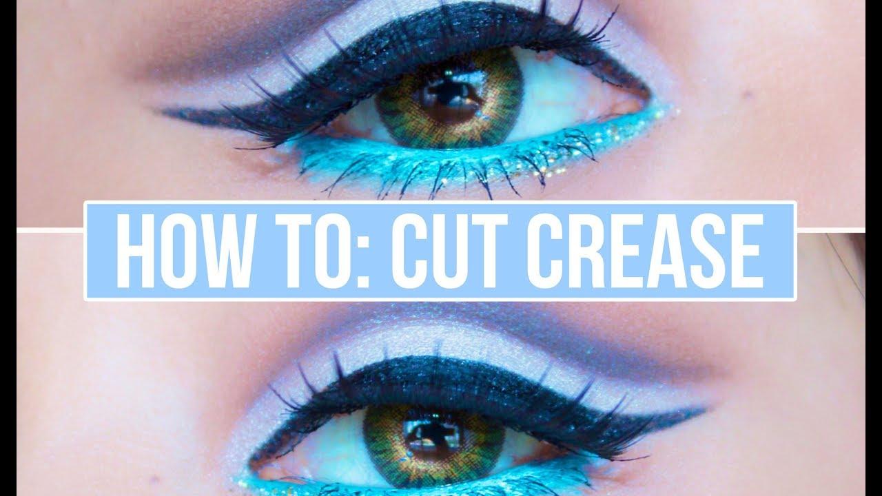 How to: Cut Crease Eyeshadow Tutorial - YouTube - photo #2