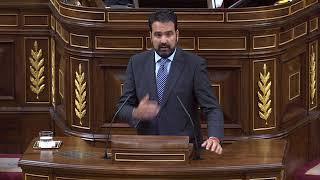 Debate Corrupción Congreso de los Diputados. Íñigo Alli