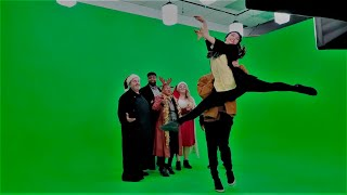 The Showcase Ensemble Green Screen VR Taping