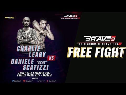 BRAVE9 DANIELE SCATIZZI VS CHARLIE LEARY