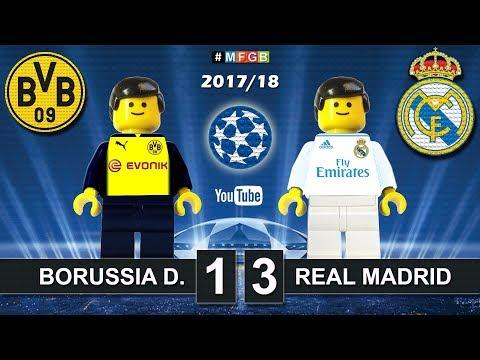 Borussia Dortmund - Real Madrid 1-3 • Champions League (26/09/2017) • Goals Highlights Lego 2017/18
