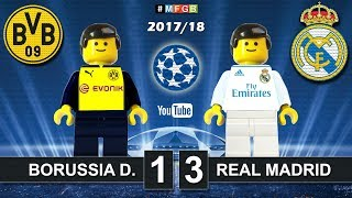 Borussia Dortmund - Real Madrid 1-3 • Champions League (26/09/2017) • Goals Highlights Lego 2017/18