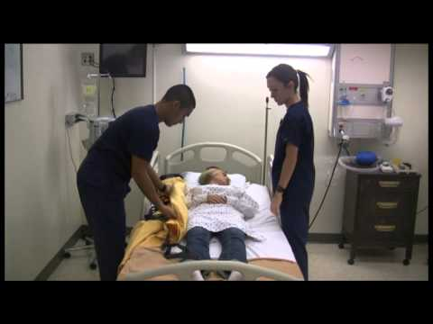Safe Patient Handling with the Ceiling Hoist System  YouTube