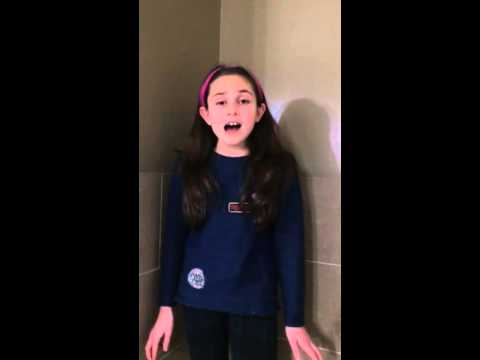 9 year old singing fly to your heart cover -Selena Gomez