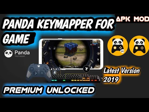 PANDA KEYMAPPER FOR GAME (Lifetime) FINAL MOD 2019 | Premium Unlocked  Adfree Latest Version